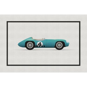 The Picturalist Framed Print on Rag Paper: Vintage Formula Aston Martin