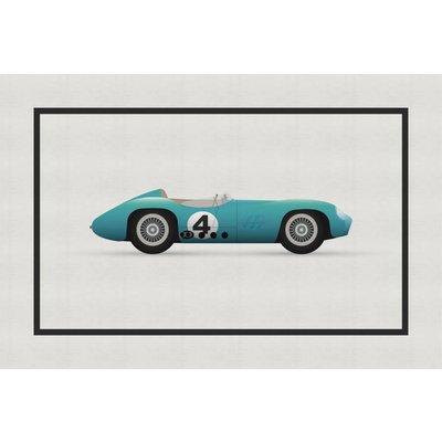 The Picturalist Framed Print on Rag Paper: Vintage Formula Aston Martin