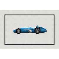 The Picturalist Framed Print on Rag Paper: Vintage Formula Mercedes Benz