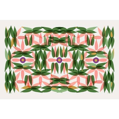 The Picturalist Facemount Acrylic: Kaleidoscope in Pink 1/4 Inch Thick Acrylic Glass