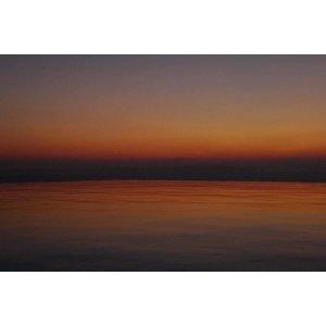 The Picturalist Framed Facemount Acrylic: Soir Orange Facemount Acrylic