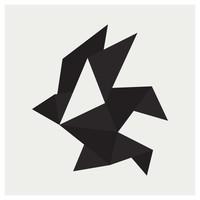 Framed Print on Rag Paper: Origami 3