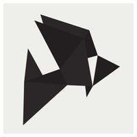 Framed Print on Rag Paper: Origami 1