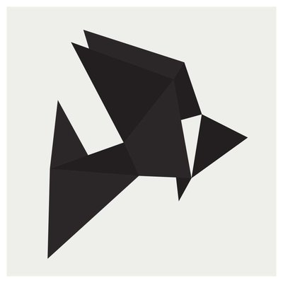 The Picturalist Framed Print on Rag Paper: Origami 1 by Alejandro Franseschini