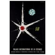 The Picturalist Framed Print on Rag Paper: 1958 Palais International de la Science Brussels