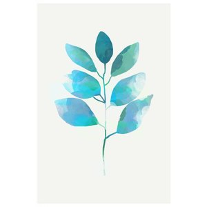 The Picturalist Framed Print on Rag Paper: Leaf Trilogy 1