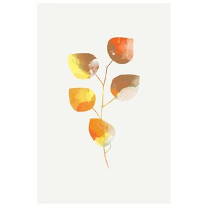 The Picturalist Framed Print on Rag Paper: Leaf Trilogy 3