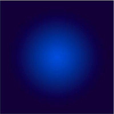 Facemount Acrylic - Cobalt Blue Halo by Alejandro Franseschini