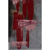 Framed Print on Canvas: Universal Syncopations 2 Canvas by Evelyn Ogly