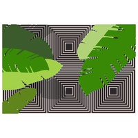 Print on Paper US250 - Tropical Leaves 2 by Alejandro Franseschini