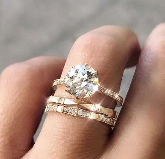 33 Excellent Wedding Ring Sets For Beautiful Women
