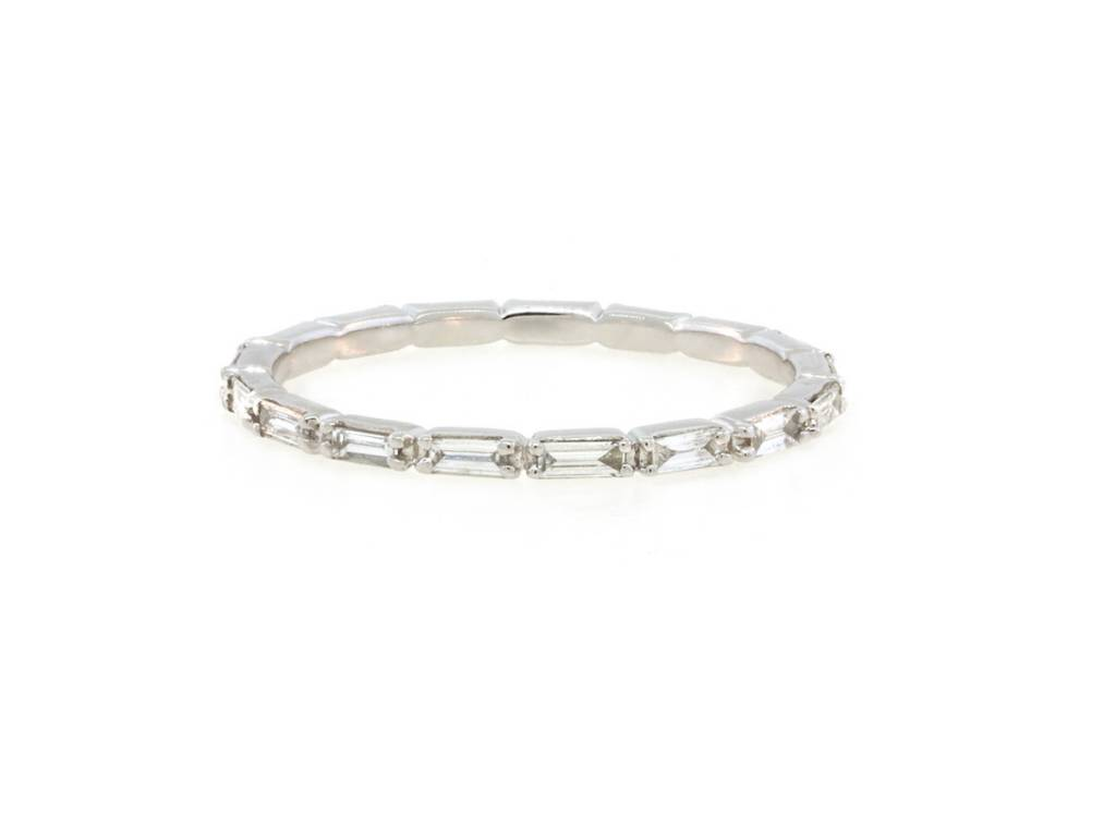 Beverley K Collection Diamond Baguette Ring