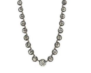 Trabert Goldsmiths 14.60ct Dia Georgian Rivière Necklace E1836