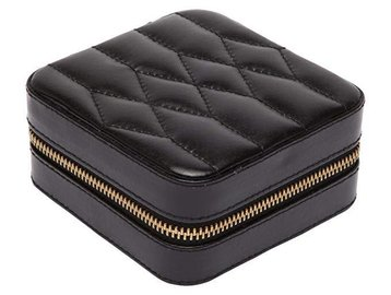 Wolf Small Quilted Leather Jewelry Box E4000
