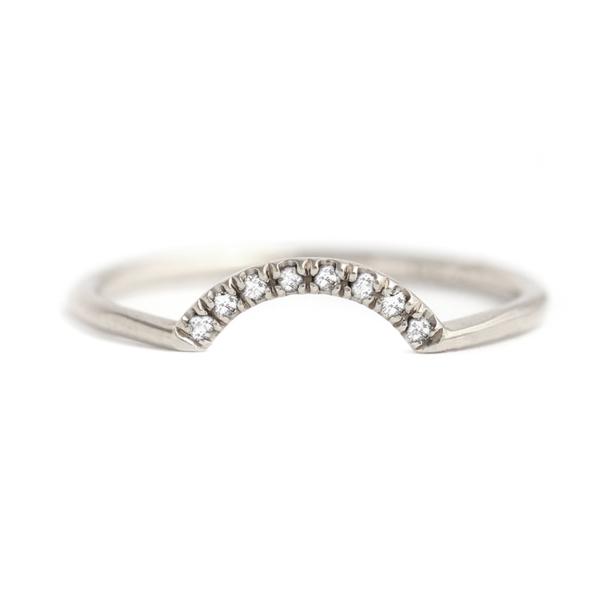 Artëmer Small Nesting Diamond Band
