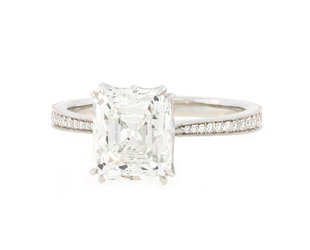 Erika Winters 2.44ct Emerald Cut Diamond Willa Ring EW21