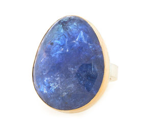 Jamie Joseph Jewelry Designs Tanzanite Bezel Statement Ring JD145