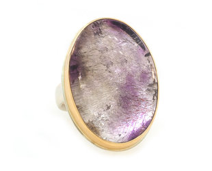 Jamie Joseph Jewelry Designs Super Seven Mineral Statement Ring  JD143
