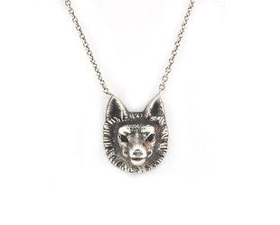 Trabert Goldsmiths E6500 Wolf Pendant