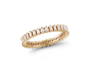 Dana Rebecca Sadie Diamond Baguette Eternity Ring DR26
