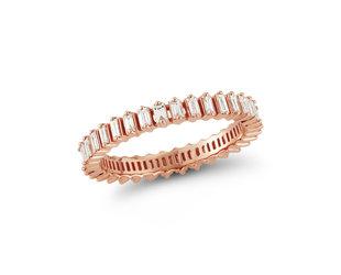 Dana Rebecca Sadie Diamond Baguette Eternity Ring DR27