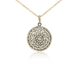 Trabert Goldsmiths Multi Diamond Pendant E1918