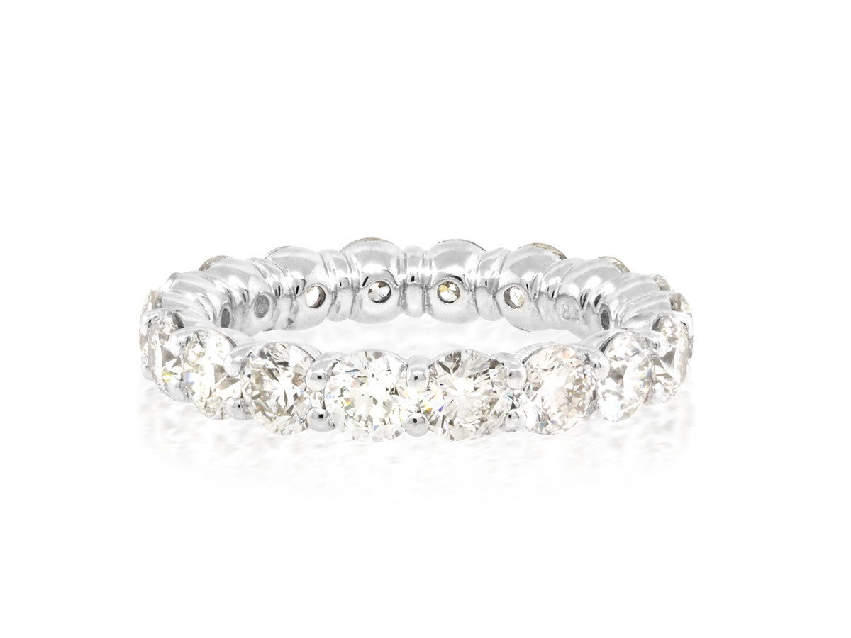 Buttercup Diamond Shared Prong Ring