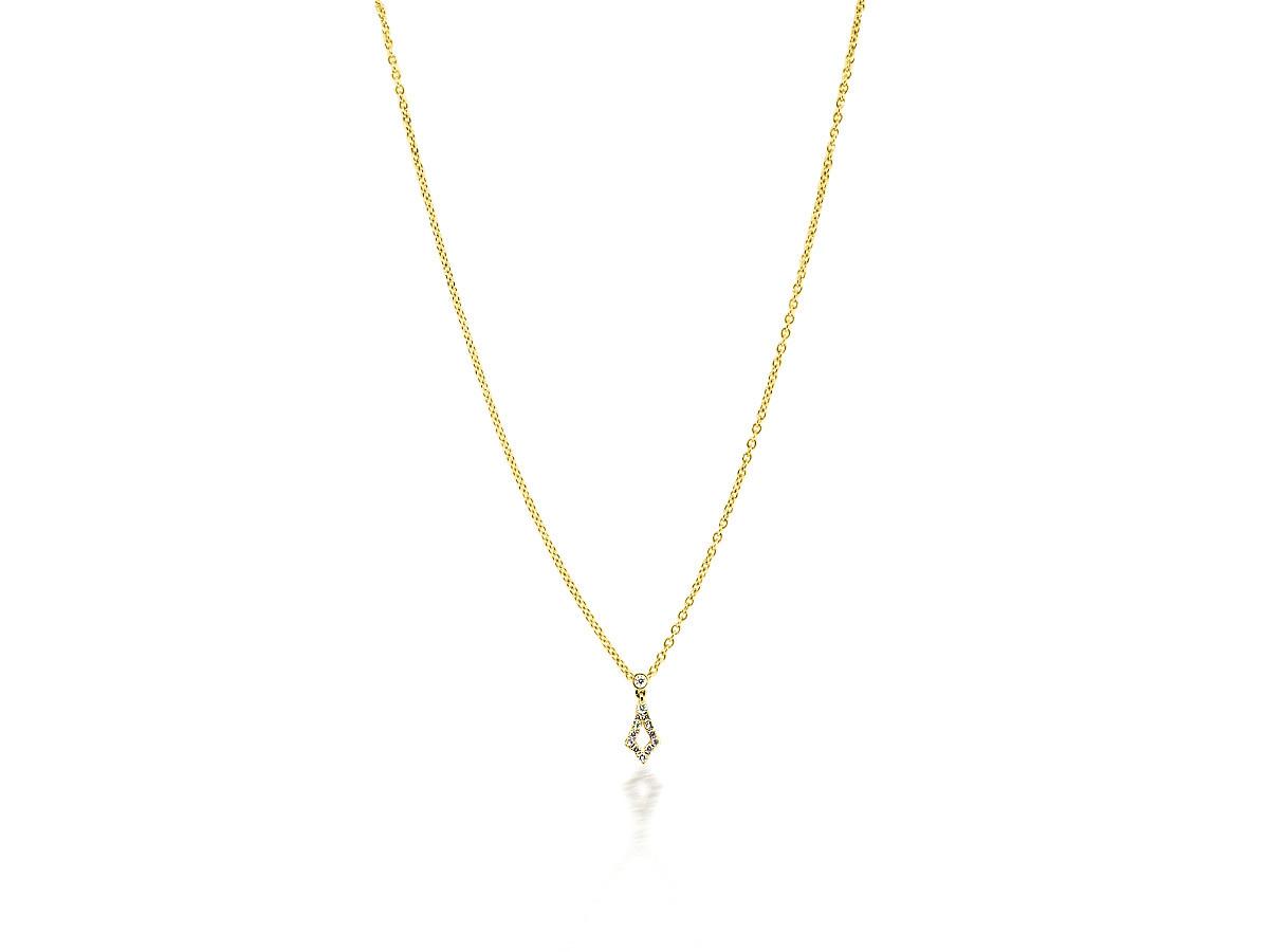 Beverley K Collection Diamond Pave Kite Pendant