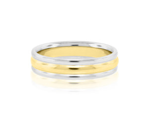 Platinum & Yellow Gold Ring E2075