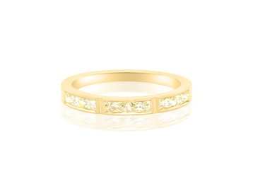 Erika Winters French Cut Diamond Eternity Band EW6