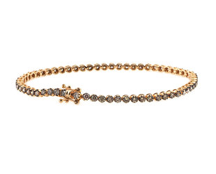 Champagne Diamond Tennis Bracelet DL57