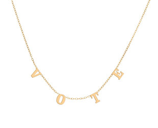Trabert Goldsmiths Vote Necklace MJ10