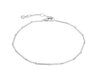 Unity Bar White Gold Bracelet LN75