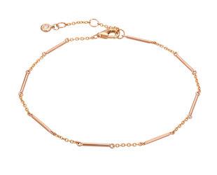 Rose Gold Unity Bar Chain Bracelet LN94