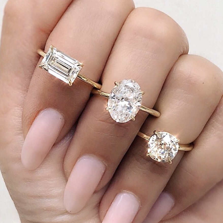 10 Instagram Accounts to Follow for the Ultimate Engagement Ring Inspo