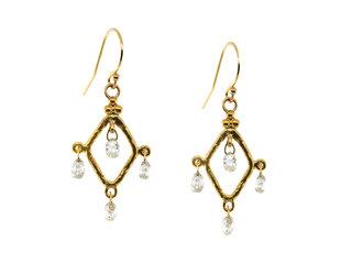 Trabert Goldsmiths Diamond Chandelier Earrings E2255