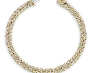 Mini Pave Link Bracelet SH27