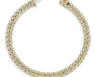 Shay Mini Pave Link Bracelet SH27