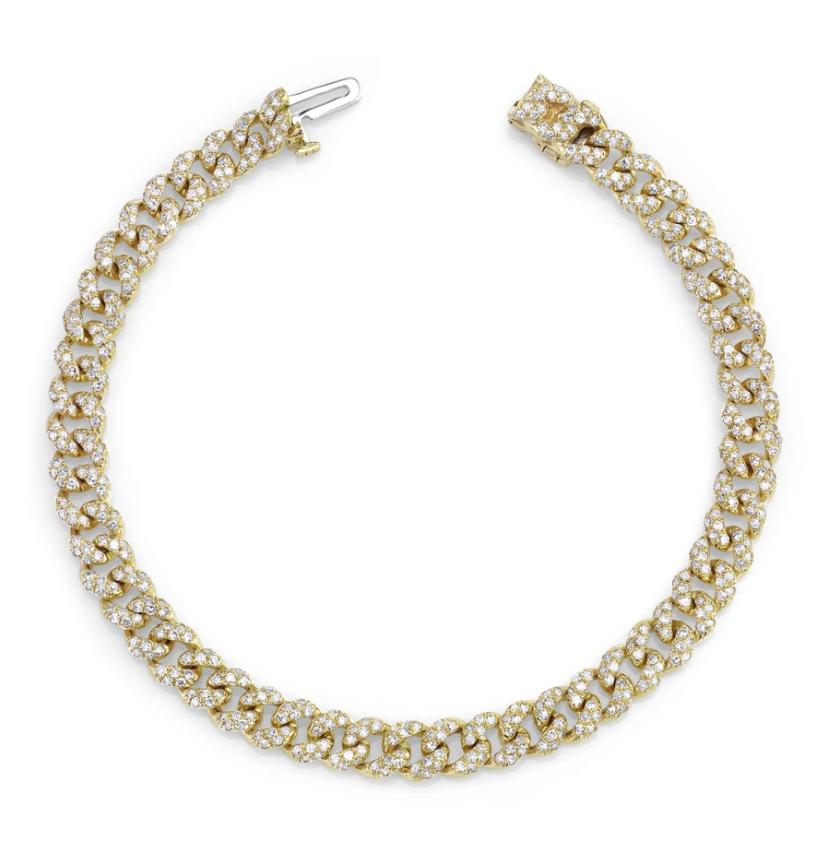 Mini Pave Link Bracelet