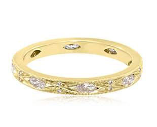 Beverley K Collection Marquise Diamond Eternity Band AB453