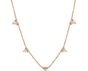 0.87ct Triangle Diamond Necklace E1668