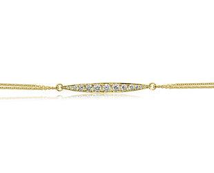 ILA 0.75ct Pave Diamond Willow Bracelet IL44