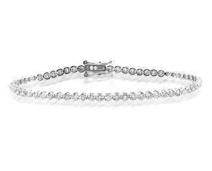 Beverley K Collection Diamond Tennis Bracelet AB528