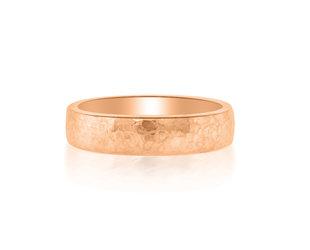 6mm 14k Rose Gold Alchemy Ring E3009