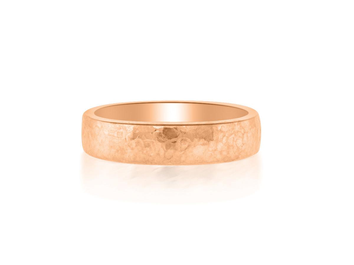 6mm 14k Rose Gold Alchemy Ring