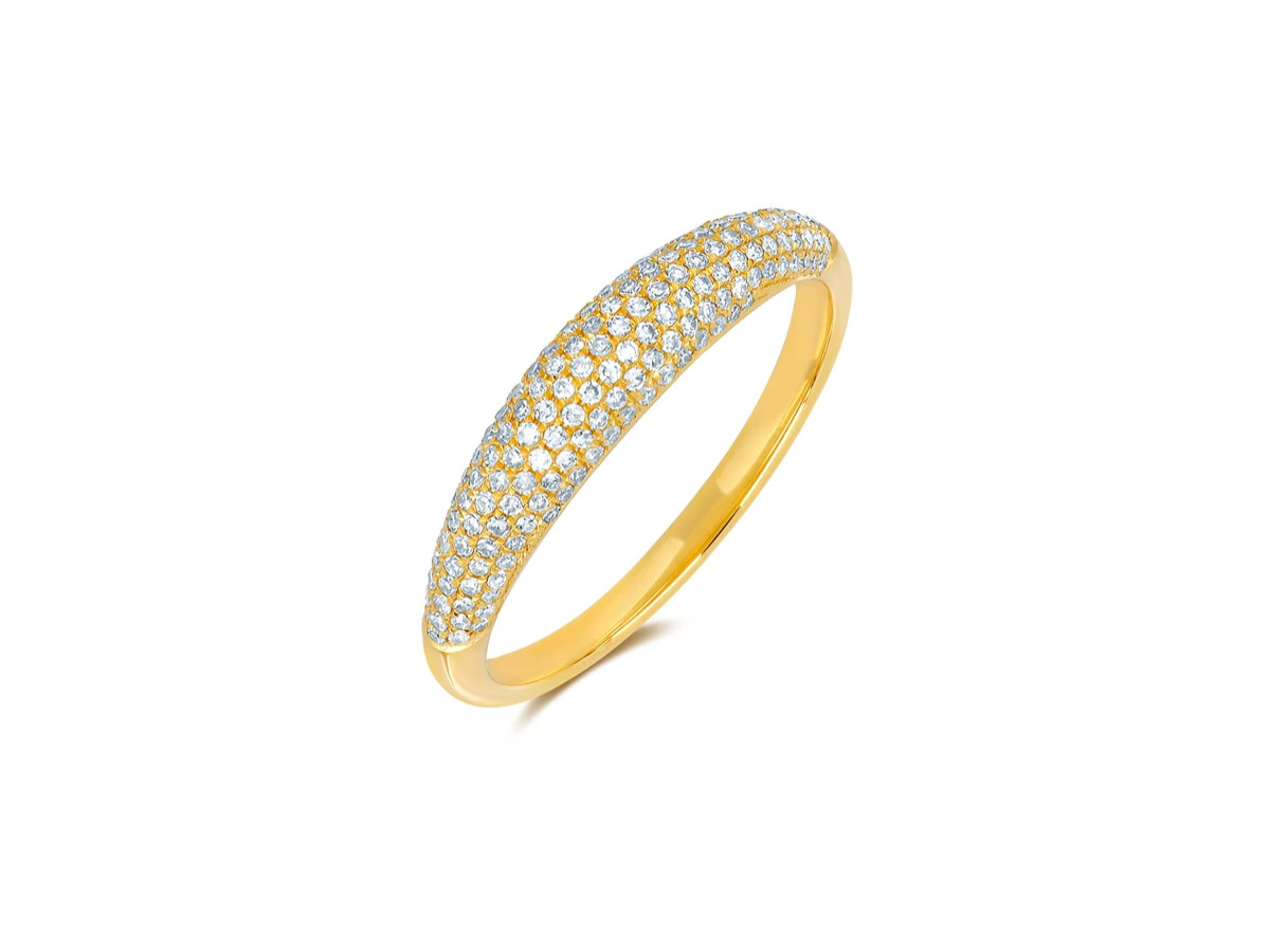 EF Collection Pave Diamond Dome Ring