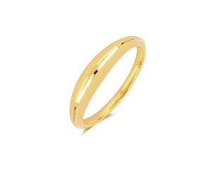 EF Collection Polished Gold Dome Ring EF2