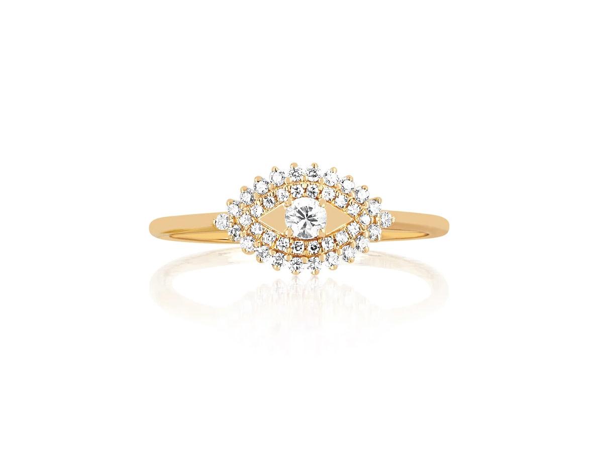 EF Collection Diamond Evil Eye Ring