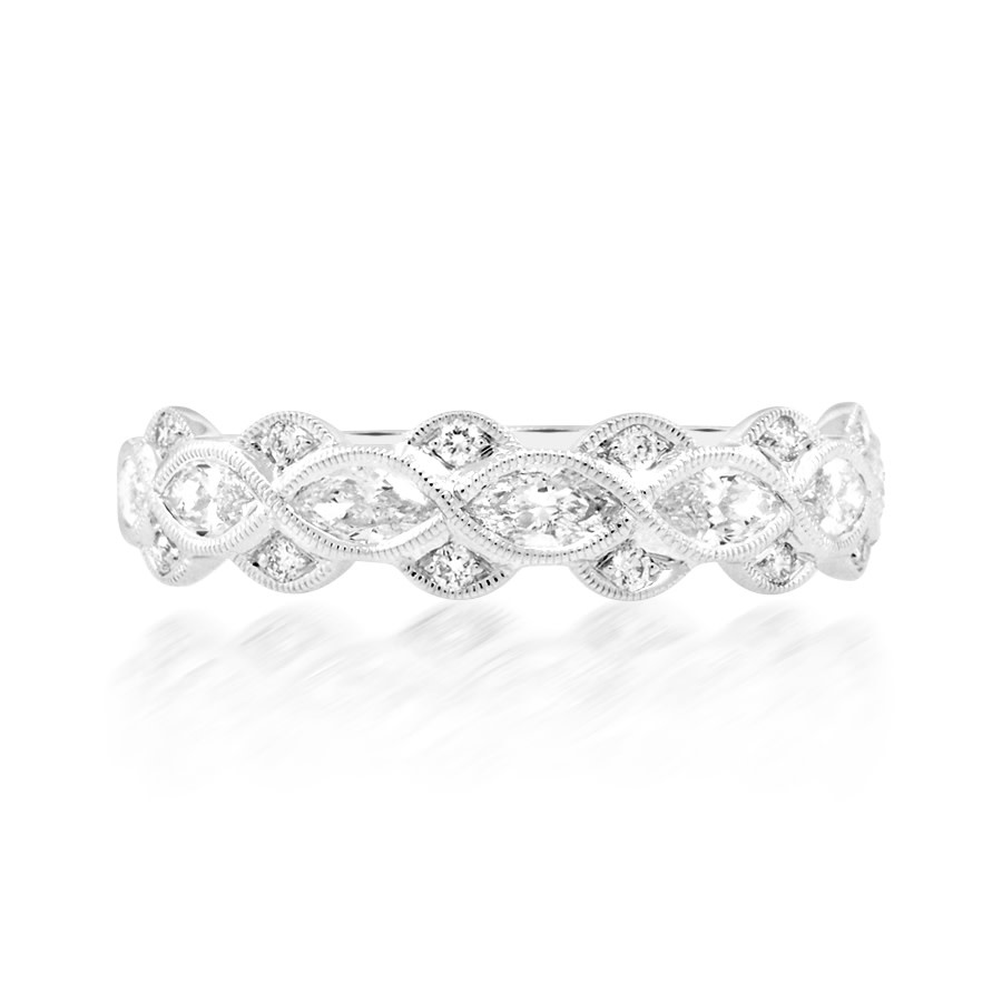 Beverley K Collection Multi Marquise Diamond Band