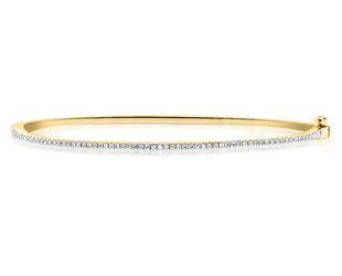 Diamond Cuffed Bangle Bracelet DL90